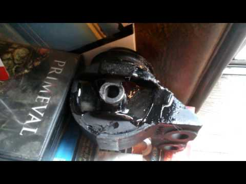 Making Solid engine mount with epoxy