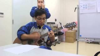 Bến thượng hải guitar - harmonica nghịch