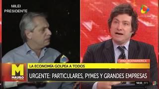 Javier Milei opina sobre la fórmula Fernández-Fernández, América TV- 19/05/19