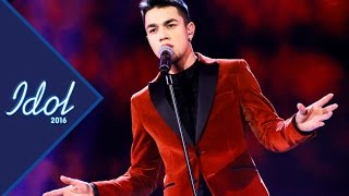 Liam Cacatian Thomassen - All of me | Idol Sverige 2016 (TV4)