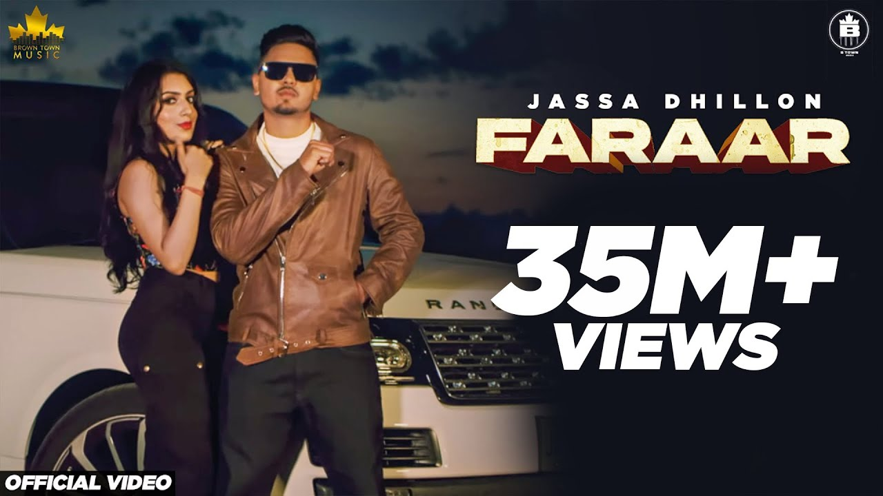 Faraar : Jassa Dhillon (Official Video) Gur Sidhu | Latest Punjabi Song 2020 | Brown Town Music