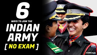 6 Ways To Become Indian Army Officer Without Written Exams