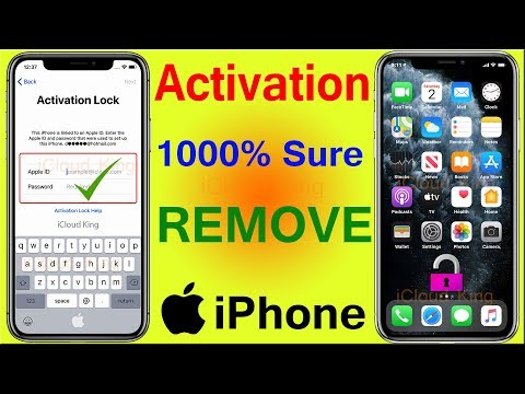NOV-2019, Activation Lock Remove iPhone X,8,7,6,6s,SE,5s,5,4s,4 iOS 13.2 iCloud Bypass 1000% Done