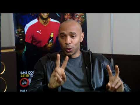One on one with Thierry Henry