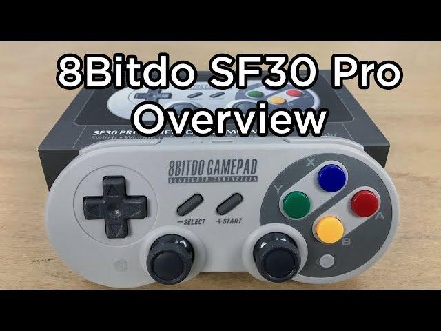 Our 8Bitdo SF30 Pro Controller Overview - Tutorial Australia