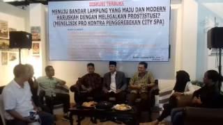 Dialog mengenai rekayasa penutupan sity Spa