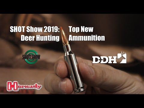 SHOT Show 2019: Top New Deer Hunting Ammunition
