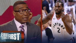 Download Kawhi's iconic buzzer-beater eliminates 76ers - Cris & Nick react | NBA | FIRST THINGS FIRST Mp3 and Videos