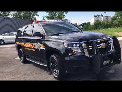 Seneca Nation Marshal 2018 Chevy Tahoe Patrol Unit 10-75 Emergency Vehicles