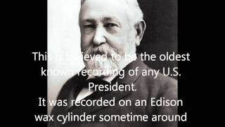 Oldest Known Recording of a US President thumbnail