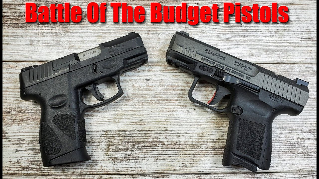 Canik TP9 Elite SC vs Taurus G2C: Which One Is The Best Budget Gun?