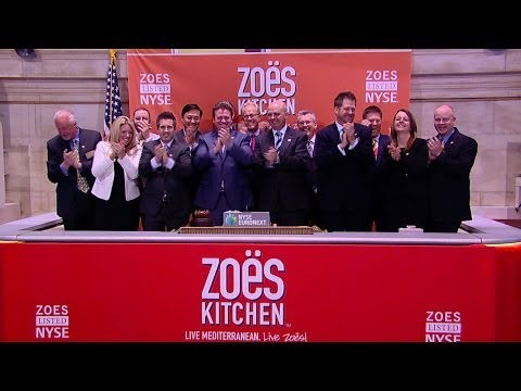 Zoe's Kitchen Feeds Investors Hungry for a Food IPO