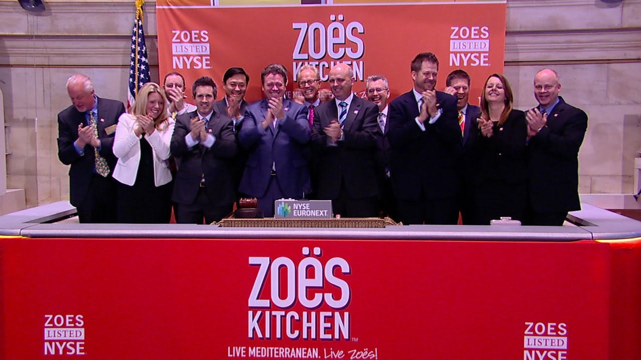 Zoes Kitchen Sign Zoe's Kitchen Feeds Investors Hungry For A Food Ipo  Youtube