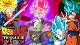 DB Tag team - BLACK GOKU SSJ ROSE - ZAMASU - DRAGON BALL SUPER ANDROID PC - DESCARGA