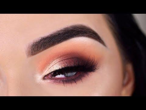 Morphe X James Charles Artistry Palette | Neutral Glam Eyeshadow Tutorial