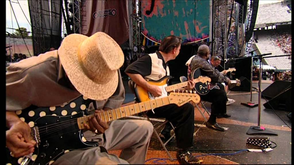 Eric Clapton/B.B. King/Buddy Guy/Jimmie Vaughn - Rock Me ...