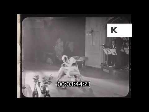 1920s Cabaret, Dancing, Nightlife, From 35mm Film