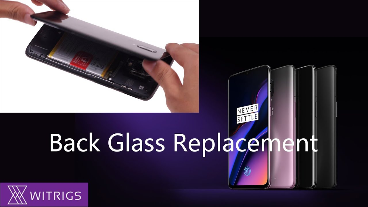 OnePlus 6T Back Glass Replacement