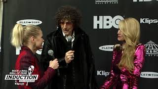 Howard Stern on the 2018 Rock & Roll Hall of Fame Induction Ceremony Red Carpet