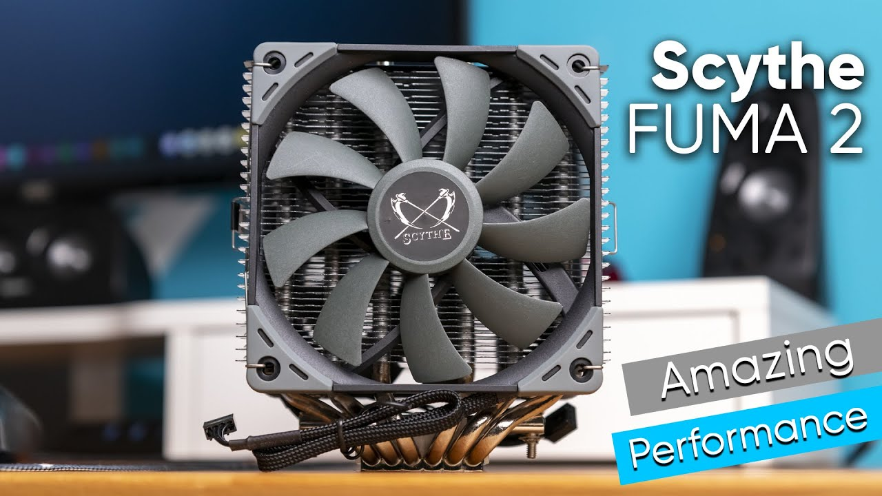 Scythe FUMA 2 - Super silent & super strong CPU cooler!
