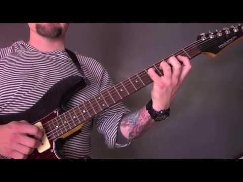 Blut Aus Nord  Epitome VII Guitar Tutorial