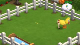 Baby Clucking Cow - FarmVille 2