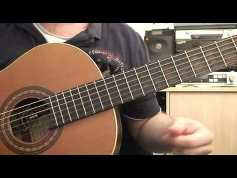 How To Play Intro to Rodeo Clows by Jack Johnson on Nylon Guitar