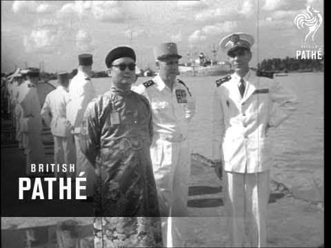 Warships Arrive In Saigon (1954)