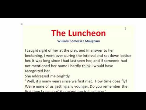 the luncheon quiz