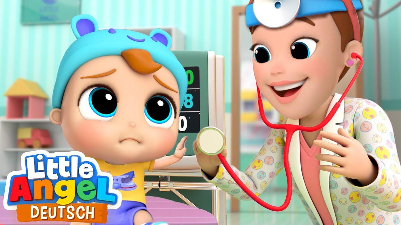 Download Ich mache dich wieder gesund!   Klein Joni geht zum Kinderarzt   Little Angel Deutsch - Kinderlieder