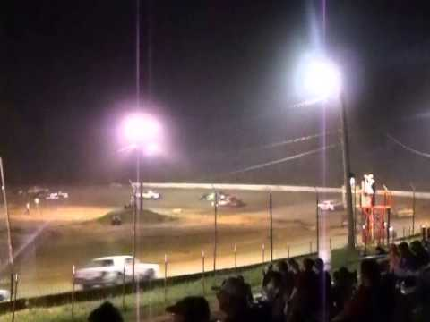 "PSRA Pure Stock ""A"" Feature at West Siloam Speedway Part 2"