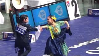 Infante 3ra. Final Concurso Mundial de Marinera 2018. Marinera Sarita