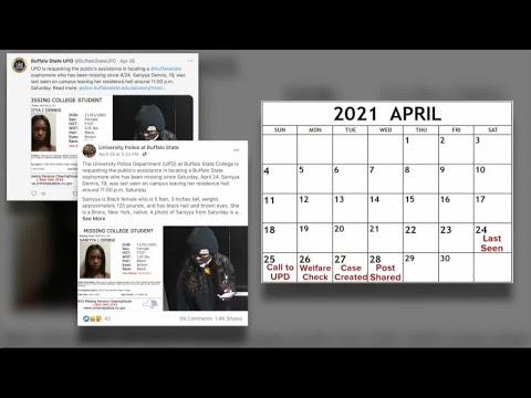 Tracking the timeline of University police's Saniyya Dennis investigation