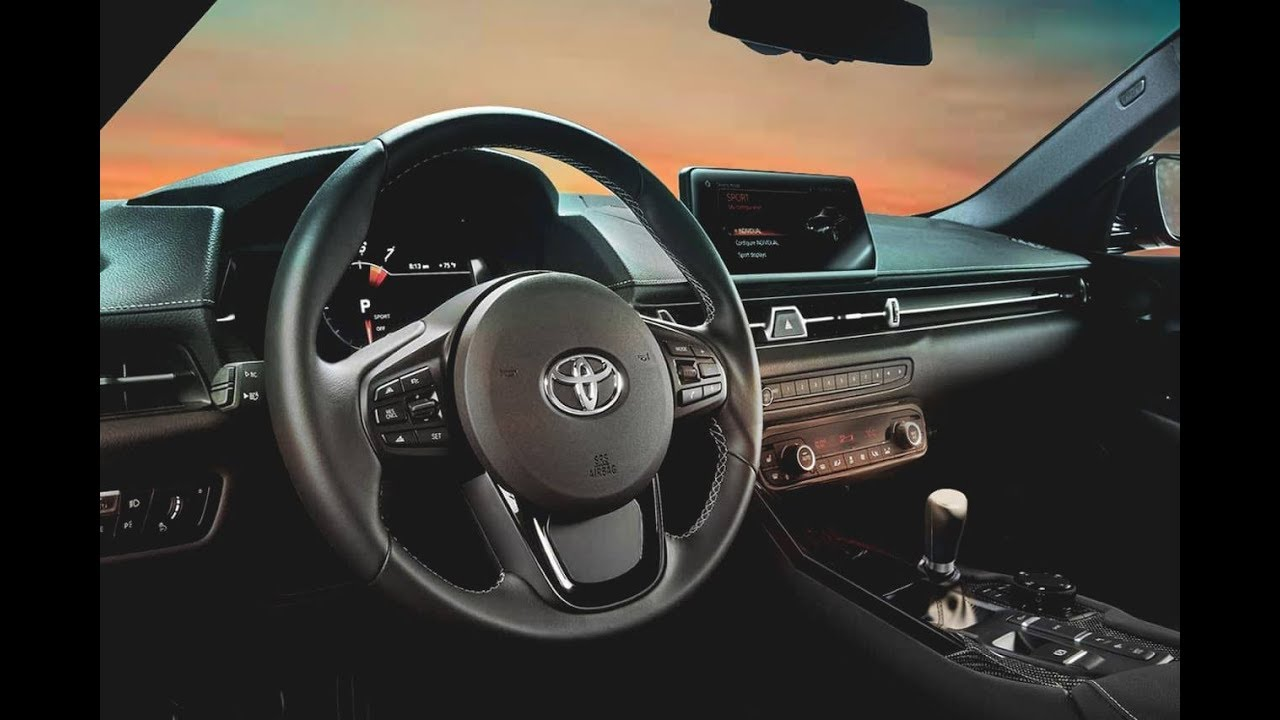 2020 Toyota Supra Interior Manual