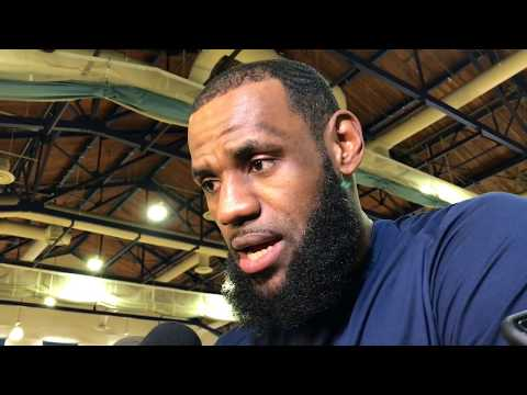 LeBron James explains the Los Angeles hype surrounding his free agency