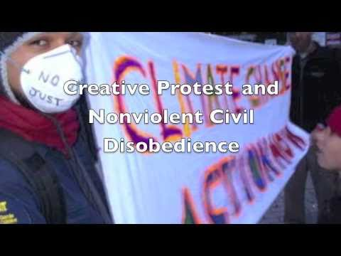 Creative Protest and Civil Disobedience Workshop
