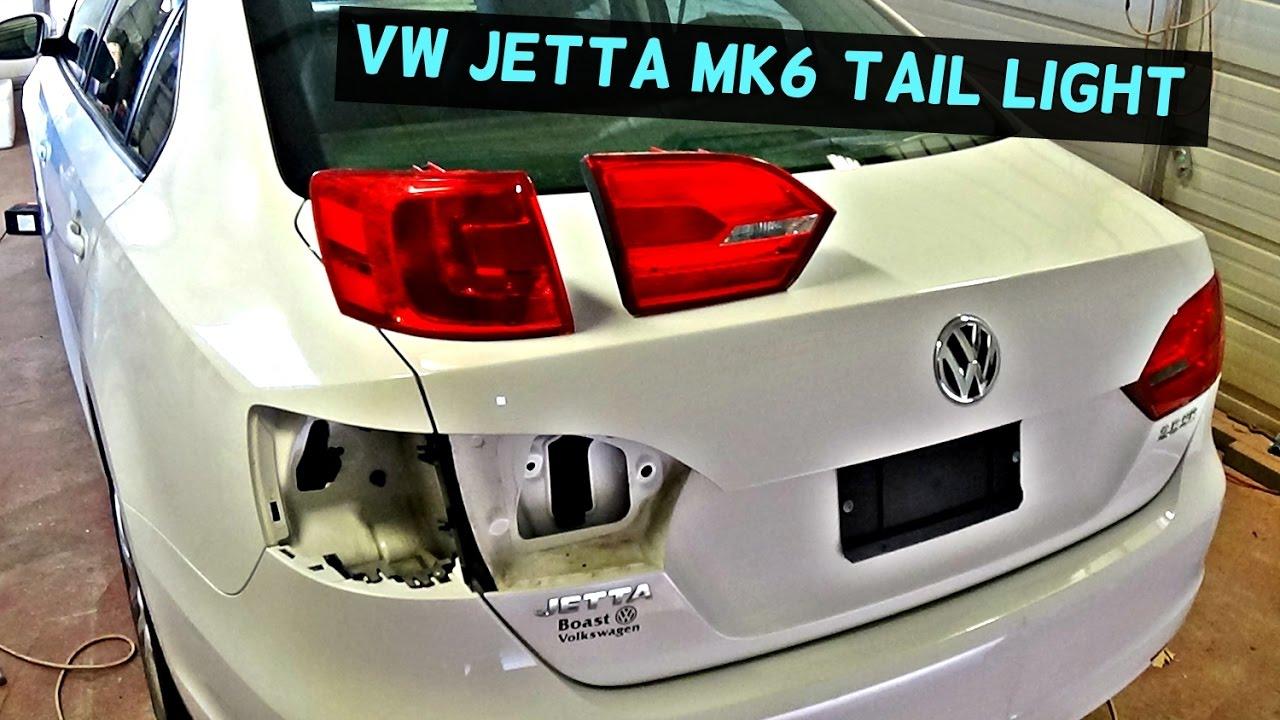 2013 Vw Passat Fuse Diagram Vw Jetta Mk6 Rear Tail Light Removal Replacement 2011 2012