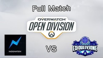 Final Full match Indignation vs Ex Oblivion - Overwatch Open Division EMEA 2019