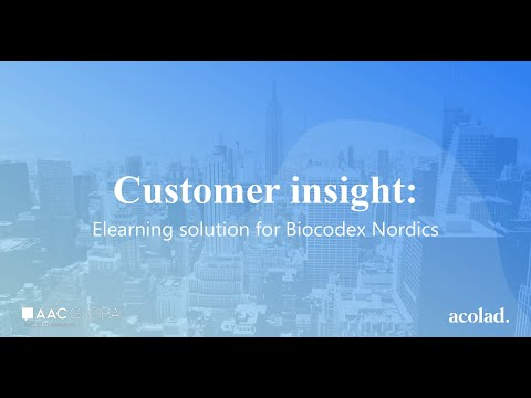 Customer insight: elearning solution for Biocodex Nordics