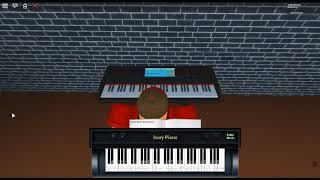 eine leise Stimme - Egi Koe kein Katachi OST: A Form of Light von: Agraph auf einem ROBLOX Klavier.