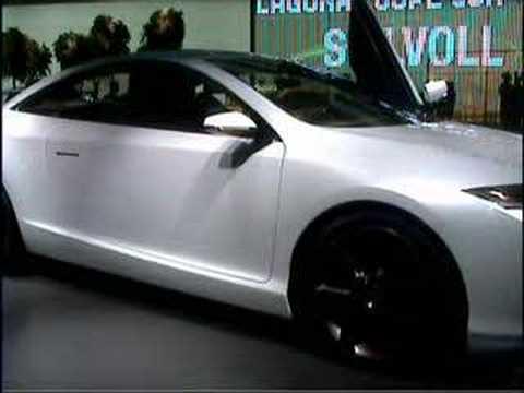 Autosalon Frankfurt 2007 Renault Laguna Coup Concept Youtube