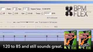 How Great REX & Stylus RMX files are made: The BPM Flex Series