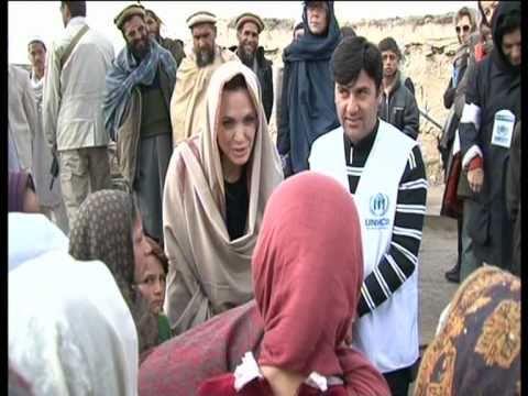 Afghanistan: Angelina Jolie Returns to Kabul