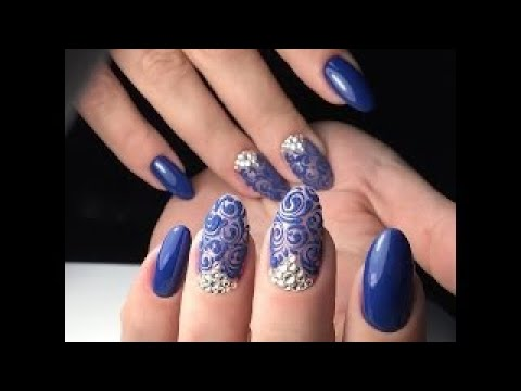 Victorian Style Nail Art Baroque Nails