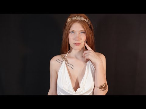 [ASMR] Goddess Creates You   Hand Movements   Personal Attention