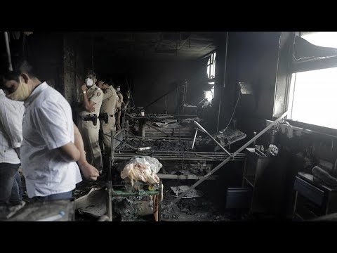مصرع 13 مصاباً بكوفيد-19 في حريق بمستشفى في الهند  - نشر قبل 5 ساعة