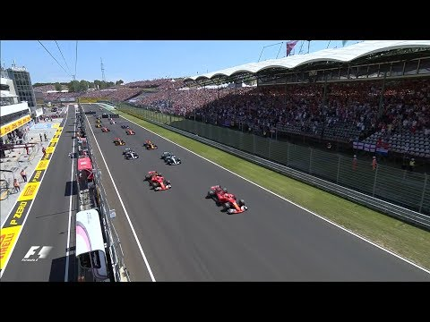 2017 Hungarian Grand Prix | Race Highlights