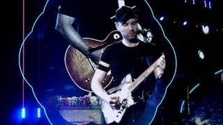 Coldplay - Earth Angel with Michael J Fox - MetLife Stadium 71716