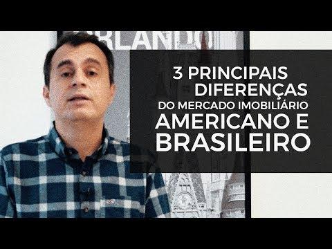 MERCADO IMOBILIÁRIO   Qual Diferença Entre O Americano E Brasileiro?