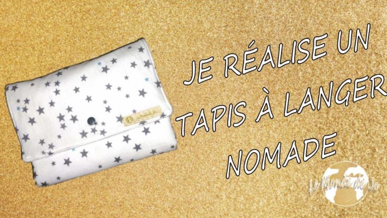 diy je realise un tapis a langer nomade rectification lire la description